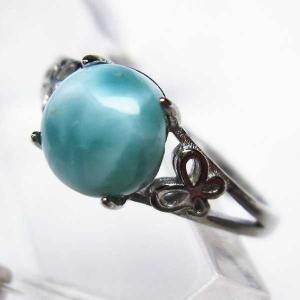 ラリマー 指輪 (13号) t113-9611|seian