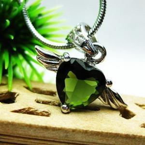 モルダバイト天使 ペンダント  t119-989|seian
