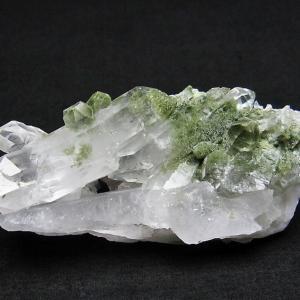 グリーンファントムクォーツ クラスター アメリカ産  パワーストーン 天然石 t126-7585|seian