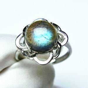 ラブラドライト 指輪  t135-5549|seian