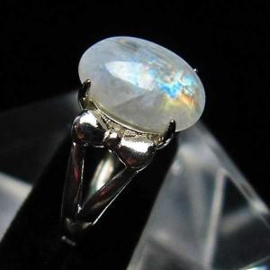 ムーンストーン 指輪  t135-5626|seian
