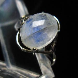ムーンストーン 指輪  t135-5637|seian