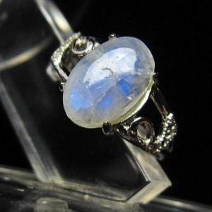 ムーンストーン 指輪  t135-5735|seian