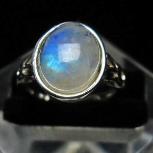 ムーンストーン 指輪 (11号) t135-5774|seian
