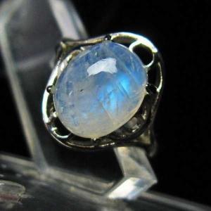 ムーンストーン 指輪  t135-5802|seian