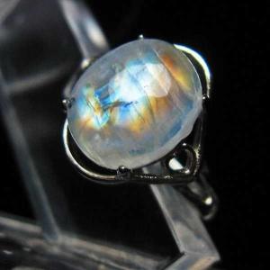 ムーンストーン 指輪 (13号) t135-5832|seian