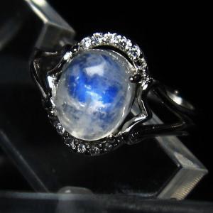 ムーンストーン 指輪 (13号) t135-5855|seian