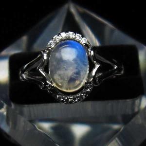 ムーンストーン 指輪 (13号) t135-5887 seian