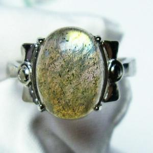 ラブラドライト 指輪 (12号) t135-5971|seian