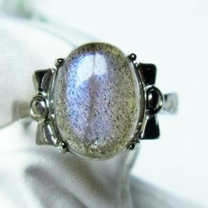 ラブラドライト 指輪 (13号) t135-5972|seian