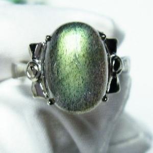 ラブラドライト 指輪 (12号) t135-5979|seian
