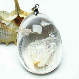 ガーデンルチル水晶 ペンダント  パワーストーン 天然石 t136-2627|seian