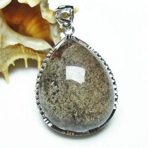 ガーデンクォーツ(庭園水晶) ペンダント  パワーストーン 天然石 t136-2678|seian