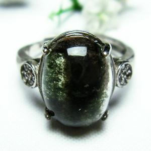 ガーデンクォーツ(庭園水晶) 指輪 (14号) t137-1259|seian