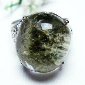 ガーデンクォーツ(庭園水晶) 指輪  t137-1274|seian