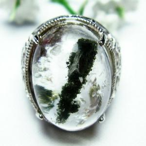 ガーデンクォーツ(庭園水晶) 指輪 t137-1293|seian