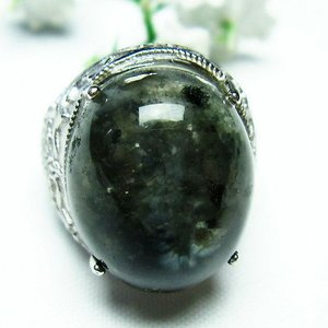ガーデンクォーツ(庭園水晶) 指輪 (14号) t137-1314|seian