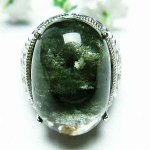 ガーデンクォーツ(庭園水晶) 指輪 t137-1327|seian