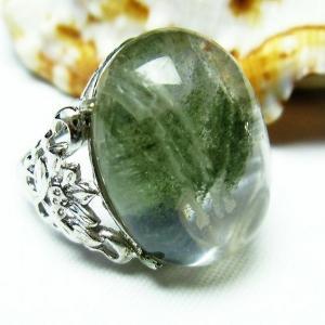 ガーデンクォーツ(庭園水晶) 指輪 t137-1331|seian