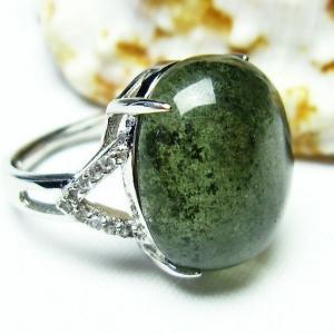 ガーデンクォーツ(庭園水晶) 指輪 t137-1340|seian