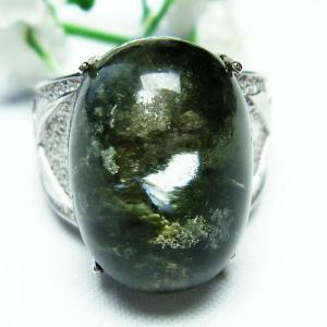 ガーデンクォーツ(庭園水晶) 指輪 (19号) t137-1377|seian