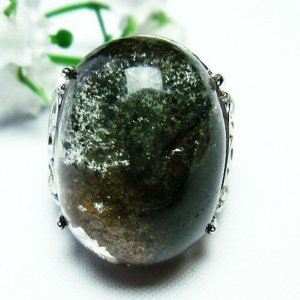ガーデンクォーツ(庭園水晶) 指輪  t137-1381|seian