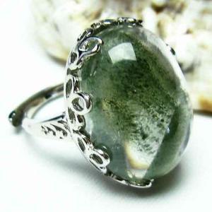 ガーデンクォーツ(庭園水晶) 指輪 t137-1403|seian