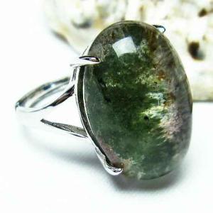 ガーデンクォーツ(庭園水晶) 指輪 t137-1406|seian