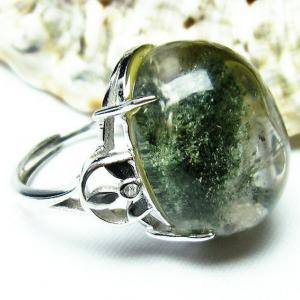 ガーデンクォーツ(庭園水晶) 指輪 (16号) t137-1407|seian