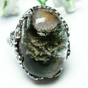 ガーデンクォーツ(庭園水晶) 指輪  t137-1413|seian