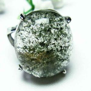 ガーデンクォーツ(庭園水晶) 指輪 t137-1417|seian