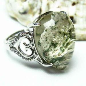 ガーデンクォーツ(庭園水晶) 指輪 t137-1421|seian