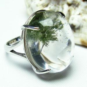 ガーデンクォーツ(庭園水晶) 指輪 t137-1440|seian