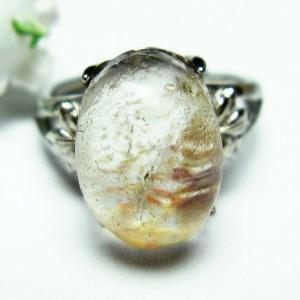 ガーデンクォーツ(庭園水晶) 指輪  t137-1457|seian