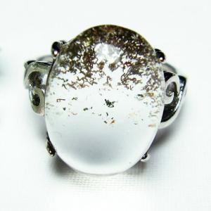 ガーデンクォーツ(庭園水晶) 指輪  t137-1483|seian
