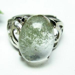 ガーデンクォーツ(庭園水晶) 指輪  t137-1505|seian