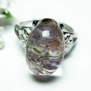 ガーデンクォーツ(庭園水晶) 指輪  t137-1628|seian