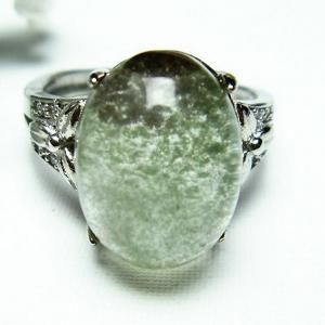 ガーデンクォーツ(庭園水晶) 指輪  t137-1679|seian
