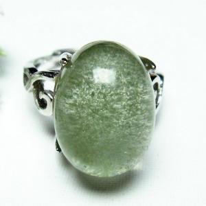ガーデンクォーツ(庭園水晶) 指輪 (16号) t137-1684|seian