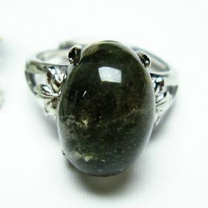 ガーデンクォーツ(庭園水晶) 指輪 (14号) t137-1698|seian