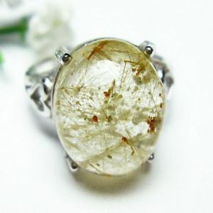 ガーデンクォーツ(庭園水晶) 指輪  t137-1701|seian