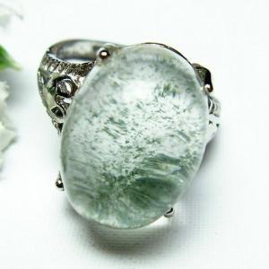ガーデンクォーツ(庭園水晶) 指輪 (12号) t137-1719|seian