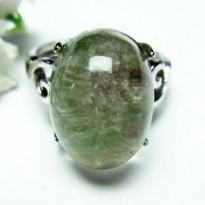 ガーデンクォーツ(庭園水晶) 指輪 (15号) t137-1733|seian