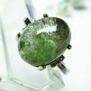ガーデンクォーツ(庭園水晶) 指輪 (13号) パワーストーン 天然石 t137-1784 seian