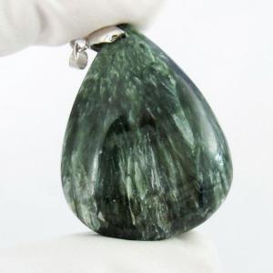 セラフィナイト ペンダント  パワーストーン 天然石 t14-3072|seian