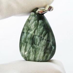 セラフィナイト ペンダント  パワーストーン 天然石 t14-3101|seian
