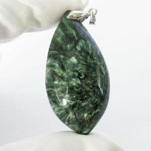 セラフィナイト ペンダント  パワーストーン 天然石 t14-3106|seian