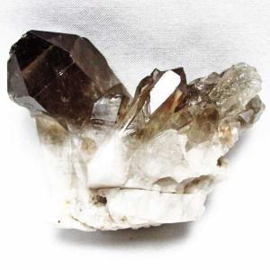 ブラジル産  モリオン 純天然 黒水晶 クラスター t143-1060|seian