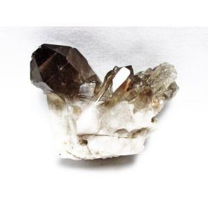 ブラジル産  モリオン 純天然 黒水晶 クラスター t143-1060|seian|02