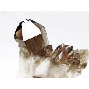 ブラジル産  モリオン 純天然 黒水晶 クラスター t143-1060|seian|04